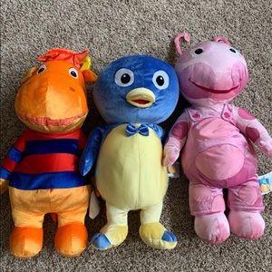"""Backyardigans plush 26"""" Stuffed Animals."""